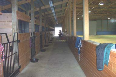 Barn Aisle Photo 1