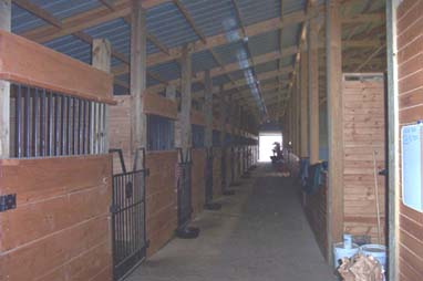 Barn Aisle Photo 2